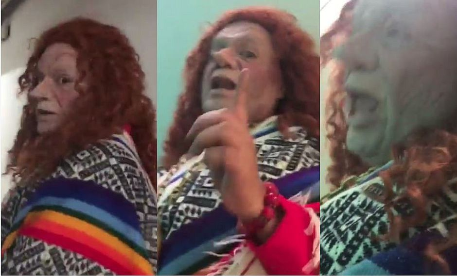 "Eliane Karp: Jorge Benavides parodia su respuesta ""I don't speak Spanish"" (VIDEO)"
