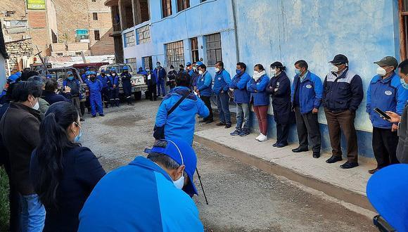 Personal de EMAPA Huancavelica no calla y afirma maltrato