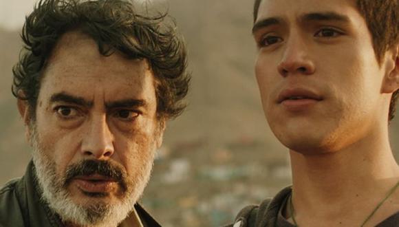 """Baldomero Cáceres y Miguel Dávalos protagonizan """"Contactado"""". (Foto: @mariteugas)."""