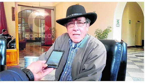 Durante la misa y Te Deum por el aniversario de Huancavelica, informaron del sensible fallecimiento del ex premier Federico Salas Guevara Shültz. (Foto de archivo: Correo)