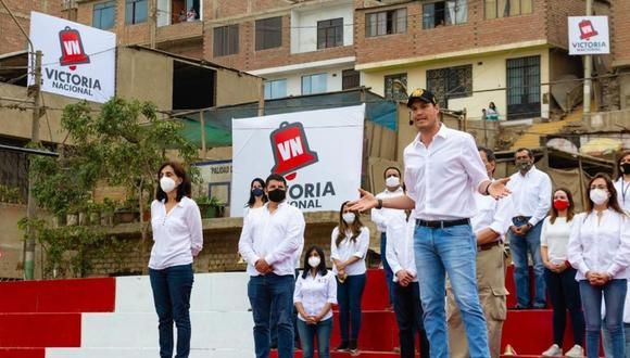 """""""Creemos que es la decisión más conveniente y no hemos tenido ningún acercamiento a ninguno de los dos partidos"""", explicó el presidente de Victoria Nacional. (Foto: Andina)"""