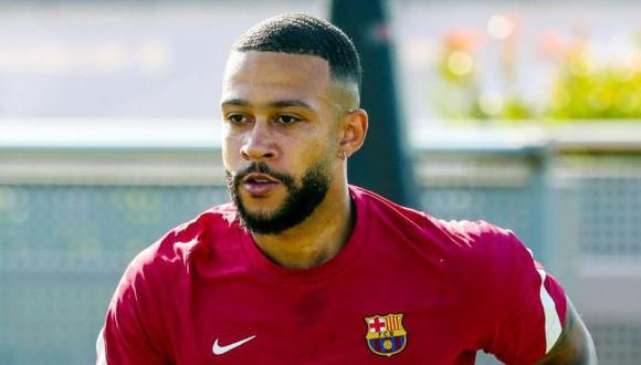Memphis Depay fichó por FC Barcelona, con un contrato de dos temporadas. (Foto: FC Barcelona)