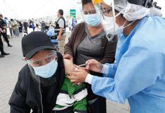 Desde hoy unos 2340 ancianos serán inoculados en Huancayo con segunda dosis de vacuna contra COVID-19