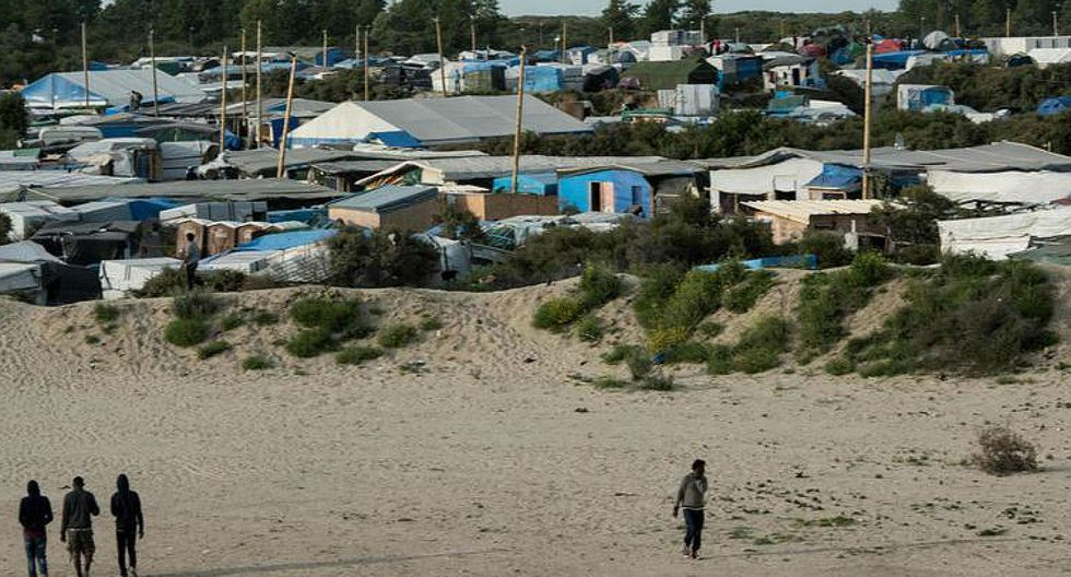 Dos heridos de bala durante pelea en un campo de migrantes en Francia