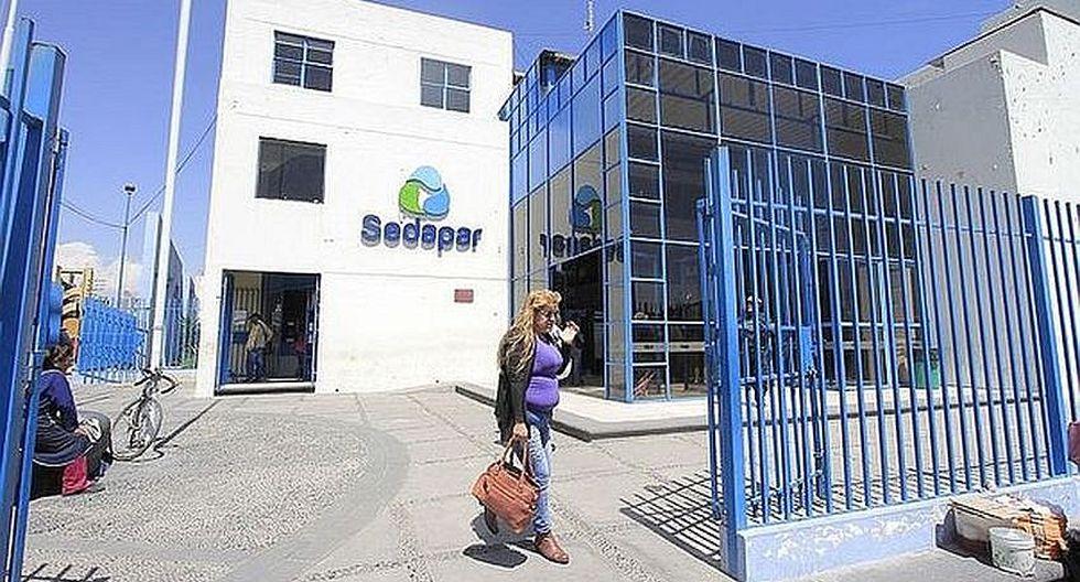 Sindicato de Sedapar en contra de la politización de la empresa de saneamiento