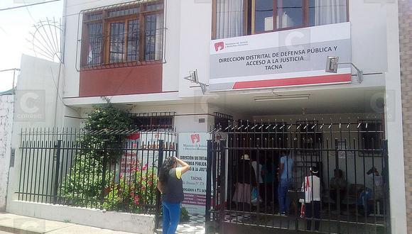 Sancionan a 4 centros de conciliación en la provincia de Tacna