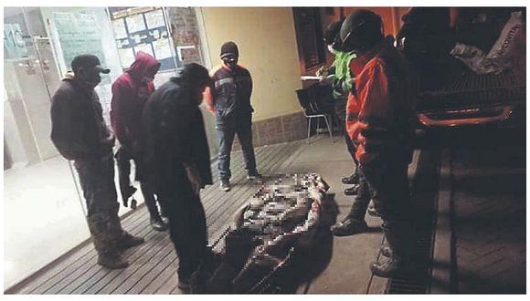 Obrero fallece en mina informal en La Libertad