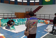 Repartirán 460 bolsas de alimentos a pobladores de Omate