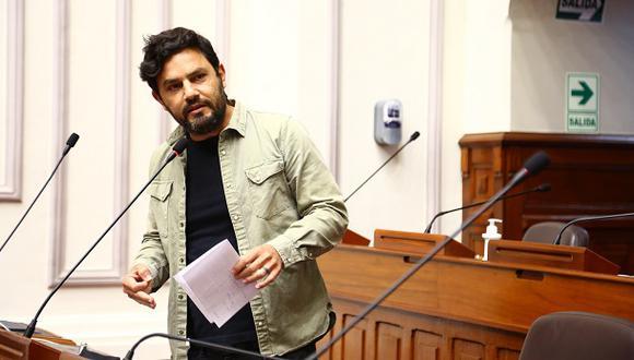 """Comisión parlamentaria abordaría la situación del legislador """"morado"""" durante la primera semana de febrero   (Foto: Congreso)."""
