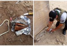 Extorsionadores prenden explosivo en obra ejecutada en Alto Trujillo