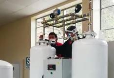 Inician la y pruebas de la planta de oxígeno en Lircay