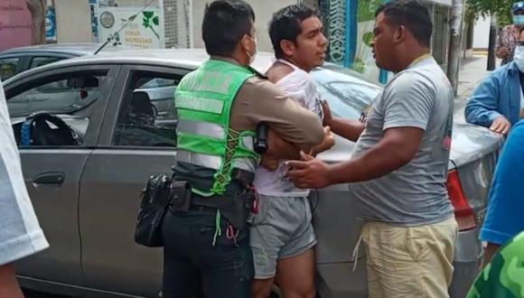 El joven detenido registra denuncias por acoso y hostigamiento sexual desde el año 2018. No obstante, siempre ha sido liberado. (Foto: PNP)