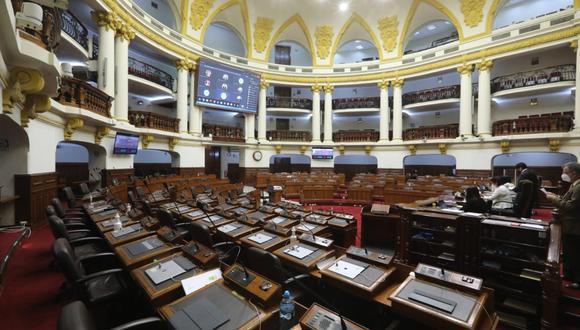 Propuesta no ha sido discutida por la Comisión de Economía y la SBS, así como el MEF, se oponen. (Foto: Congreso)