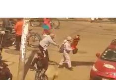 """Capturan a  ladrón conocido como """"manos de seda"""" que robó celular a peatón  (VIDEO)"""