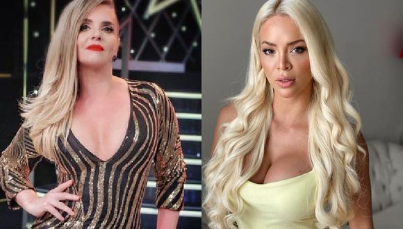Johanna San Miguel aclara a Sheyla Rojas que 'Queca' es la verdadera 'barbie peruana'. (Foto: Instagram)