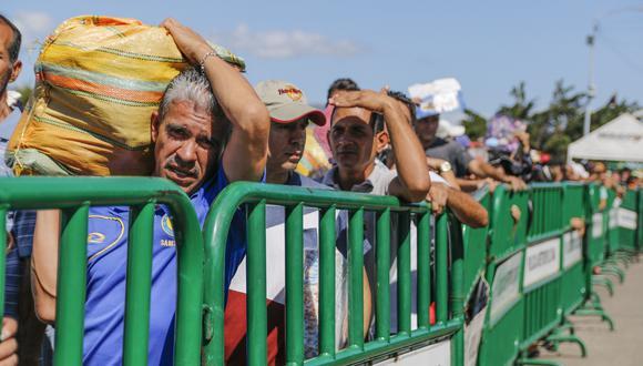 De acuerdo con la OEA, siete millones habrían abandonado el país llanero para fines de este año o inicios de 2022. (Foto: AFP).