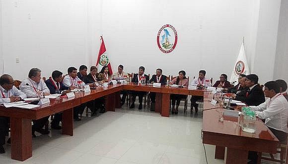 Consejo regional con escasa productividad en contexto de emergencia sanitaria