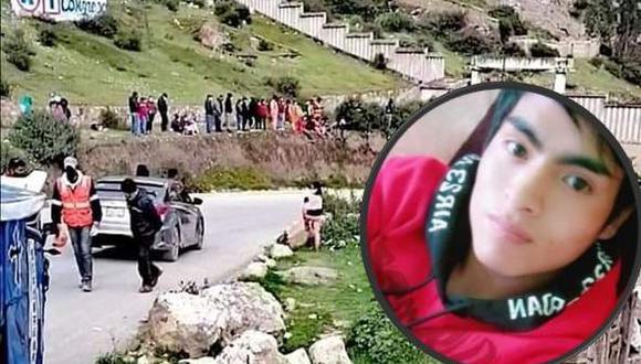 Escolar muere en accidente de tránsito en Oyón/ Foto: Correo