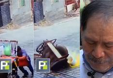 """Anciano se resbala, le cae agua hirviendo y llora porque no puede trabajar: """"Soy el único sustento de mi familia"""""""