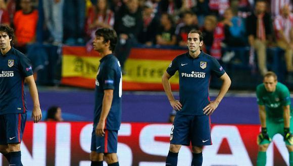 Champions League: Benfica sorprendió y venció 2-1 a Atlético Madrid