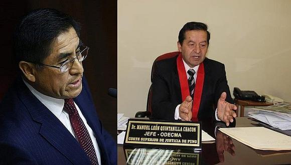 César Hinostroza: Poder Judicial acepta renuncia de juez supremo Manuel León Quintanilla