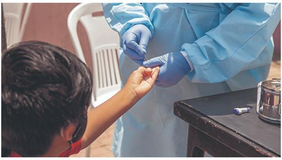 Chimbote sigue registrando más casos y alcanza los 11,332 contagios.