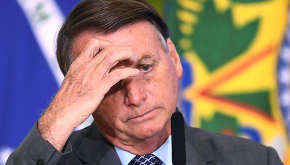 """La Conmebol  incluso agradeció al presidente Jair Bolsonaro, que niega la gravedad del COVID-19, por """"abrir las puertas"""" del país a la Copa América, que comenzará previsiblemente el 13 de junio. (Foto: EVARISTO SA / AFP)"""