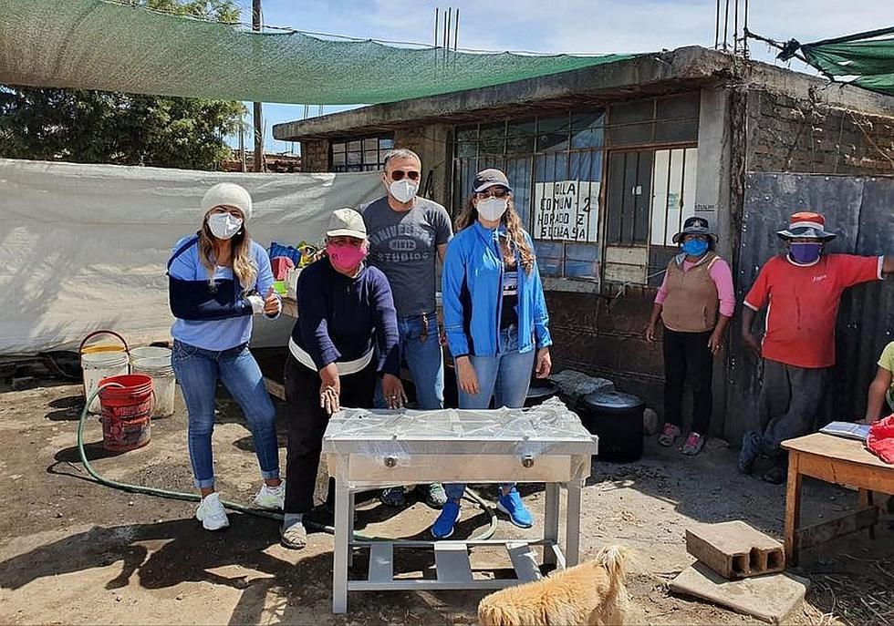 En Arequipa suman esfuerzos para dotar de insumos a 38 ollas comunes(FOTOS)