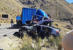 Dos muertes en tres accidentes de tránsito
