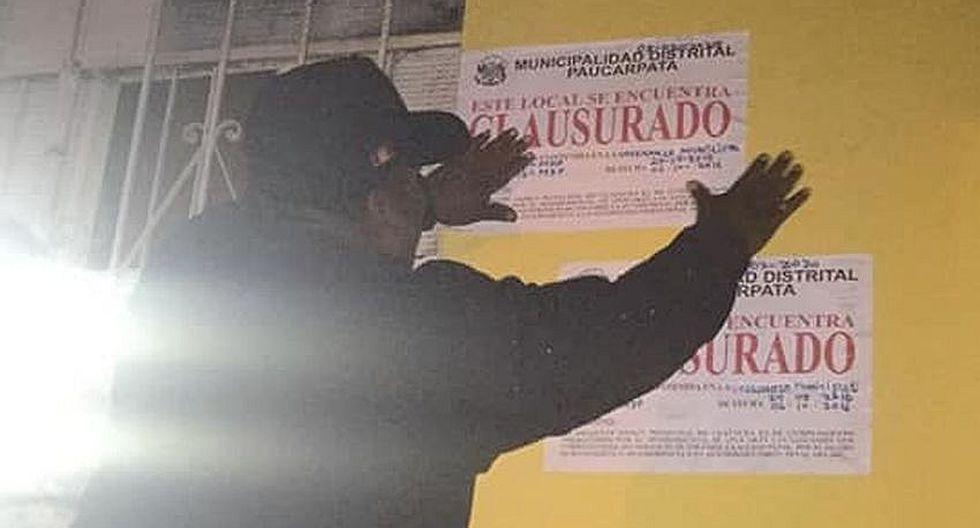 """Clausuran local nocturno """"Safari Vip"""" en Paucarpata"""