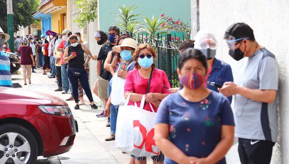La presidenta de Essalud, Fiorella Molinelli, detalló que los distritos como: Comas, San Miguel, Los Olivos y La Molina están cerca de alcanzar las cifras máximas registradas en la primera ola por el COVID-19.