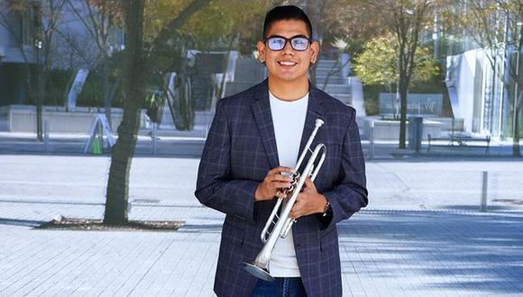 El trompetista peruano Elmer Churampi fue elegido como uno de los 14 músicos que grabaron dos piezas musicales para honrar la inauguración de Joe Biden y Kamala Harris. (Foto: @elmerchurampitrumpet)