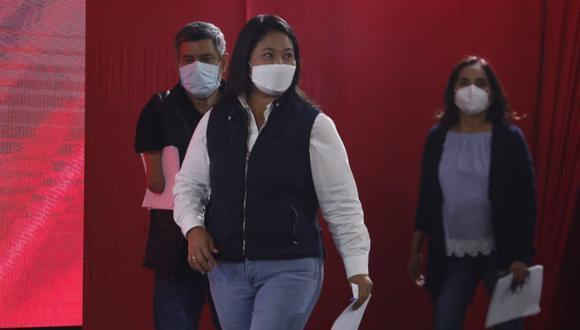 """La virtual bancada de Perú Libre recordó que Fujimori Higuchi el 2016 no aceptó los """"resultados"""" y realizó una """"práctica obstruccionista como lo ha venido haciendo estos últimos años. (Foto: Hugo Pérez / @photo.gec)"""