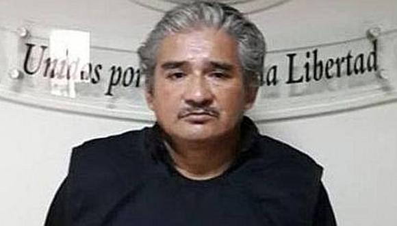 Luis Agüero Castañón va 9 meses a prisión preventiva por presunta extorsión