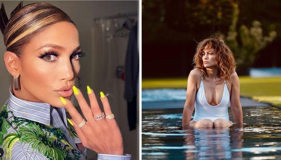 Jennifer Lopez participó en singular fiesta familiar en el sótano de un club (@jlo).
