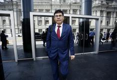 Martín Vizcarra ante el Ministerio Público el 3 de noviembre