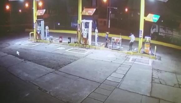Chincha: Encapuchados fingen ser clientes para asaltar un grifo