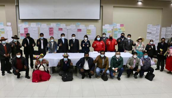 La reunión se extendió por más de 12 horas en la ciudad de Puno. Foto: Difusión