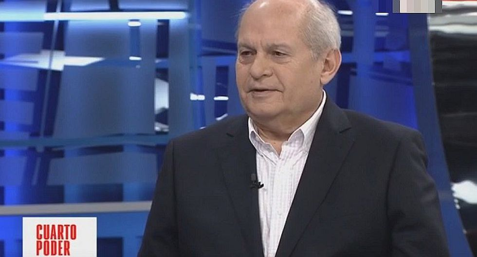 "Pedro Cateriano sobre Olaechea: Podrá ir a ""patalear"" al extranjero, pero no logrará nada"