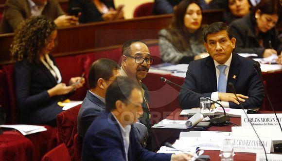 Carlos Morán responde por caso Goro ante comisión de Justicia (VIDEO)