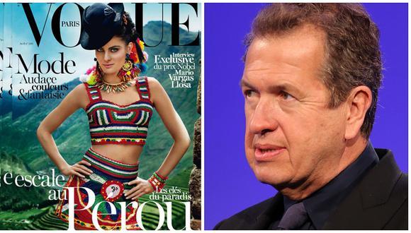 Vogue decide dejar de trabajar con Mario Testino tras acusaciones de acoso sexual