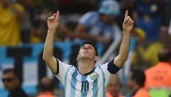 Lionel Messi agradeció el apoyo en el Mundial