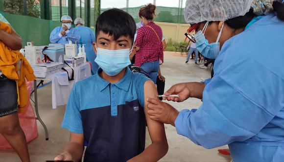 Tumbes y Tacna son dos de las regiones que han vacunado a adolescentes entre 12 y 17 años, pese a que no tuvieron autorización del Ministerio de Salud.  (Foto: Gore Tumbes)
