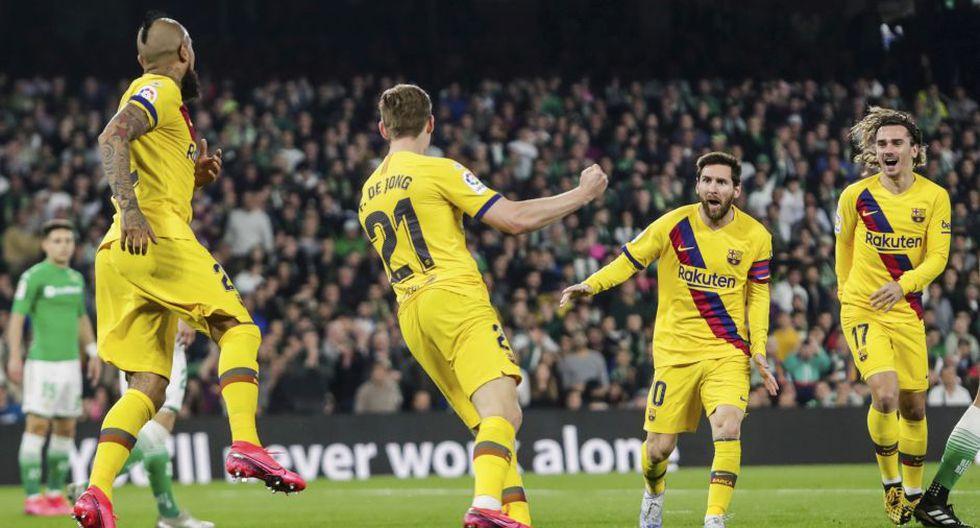 Barcelona va por un nuevo triunfo en LaLiga Santander ante Getafe. (Foto: AFP)