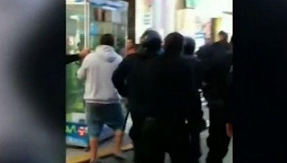Trujillo: Comerciante realizó disparos al aire para evitar decomiso de sus productos (VIDEO)