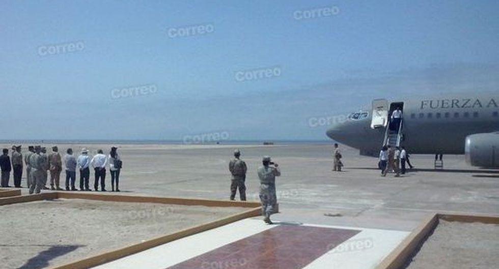 Ollanta Humala llegó a Ilo para entregar el BAP Tacna