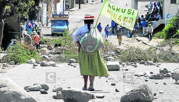 Piden diálogo certero para Tía María en Tambo - Islay