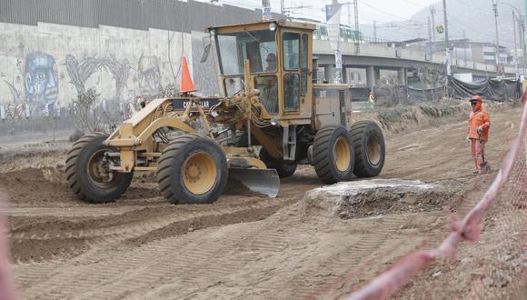 Lima Metropolitana contará con S/ 45′698,959 para la ejecución de 16 obras nuevas de infraestructura vial y equipamiento urbano. (Foto: Francisco Neyra / GEC)