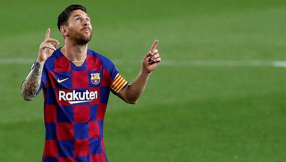 Lionel Messi suma 640 goles con la camiseta del FC Barcelona. (Foto: EFE)