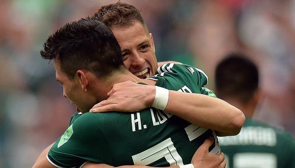 """México vs Alemania: El conmovedor llanto de """"Chicharito"""" Hernández tras histórico triunfo (VIDEO)"""